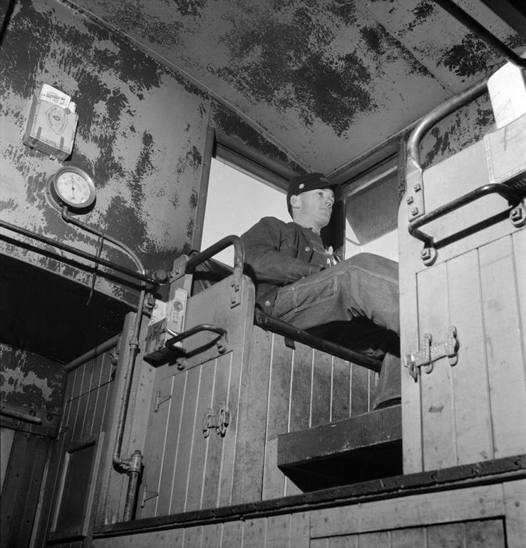 Walter Dew, Brakeman, AT&SF Railroad