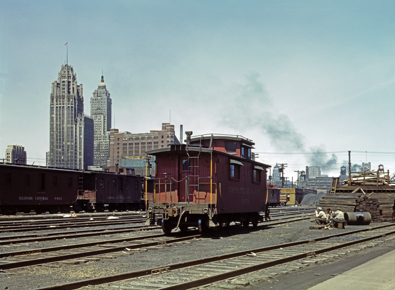 ICRR Caboose Service Area, Chicago
