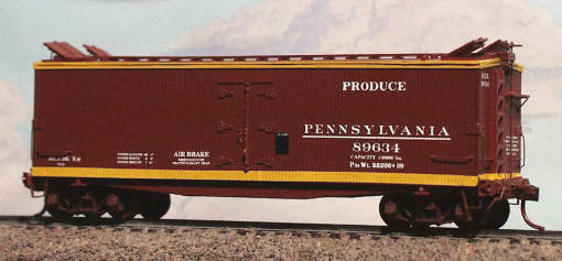 PRR 2704 XM DS Ventilated Boxcar