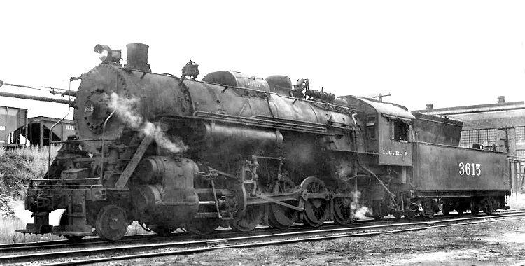 ICRR Steamer 2-10-0 #3615
