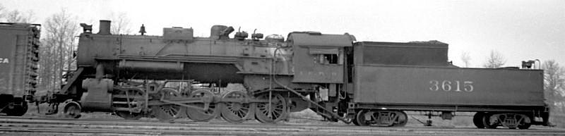 ICRR Steamer 2-10-0 #3615 - 1957