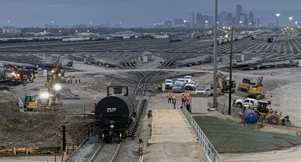 UP Houston Hump Yard