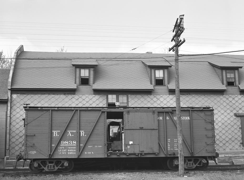 BAR Boxcar at Potato Warehouse