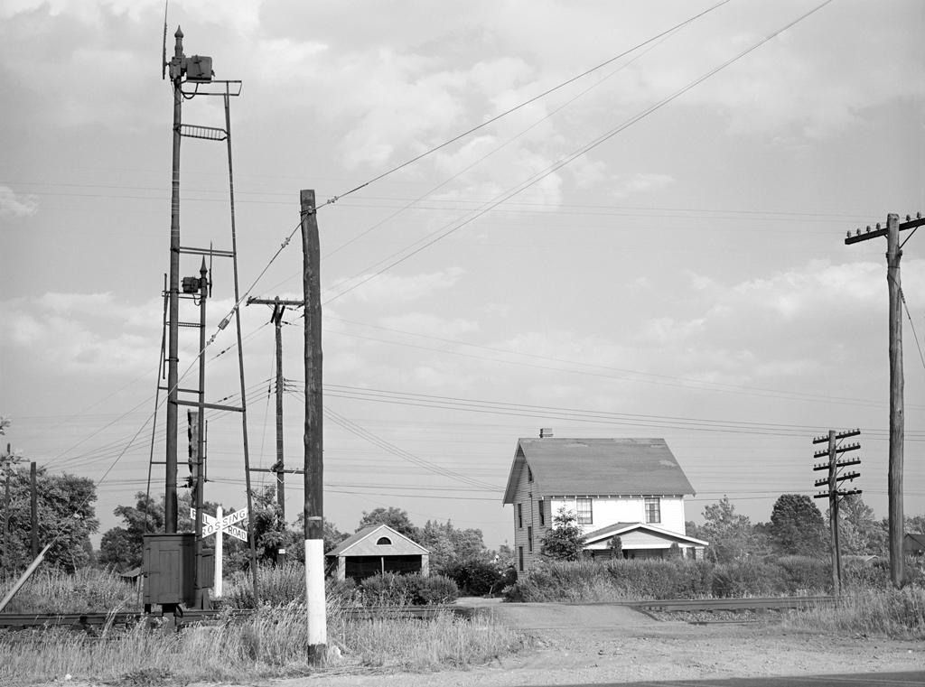 Railroad Crossing at Muirkirk, MD