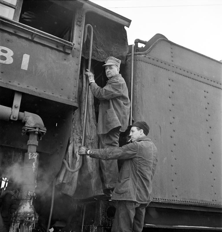 Boarding the Locomotive