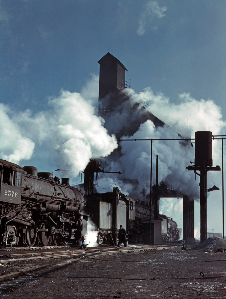 Locomotives Over the Ash Pit