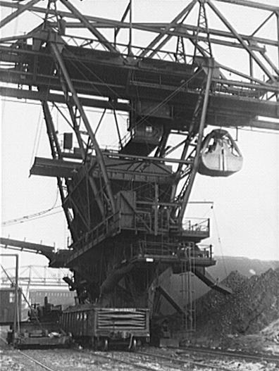 Loading End of Coal Loading Dock