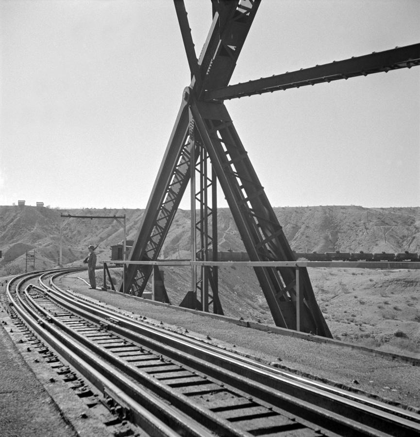 Colorado Rail Bridge with Guard